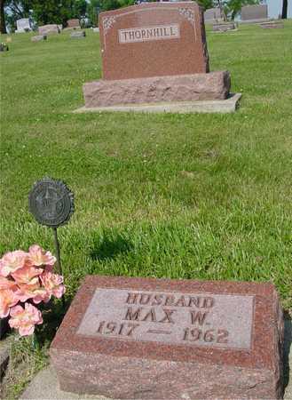THORNHILL, MAX - Ida County, Iowa | MAX THORNHILL