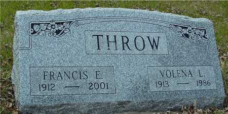 THROW, FRANCIS & VOLENA - Ida County, Iowa | FRANCIS & VOLENA THROW