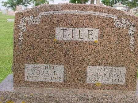 TILE, CORA B. - Ida County, Iowa | CORA B. TILE