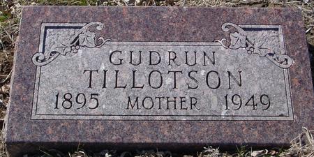 TILLOTSON, GUDRUN - Ida County, Iowa | GUDRUN TILLOTSON