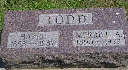 TODD, HAZEL - Ida County, Iowa | HAZEL TODD