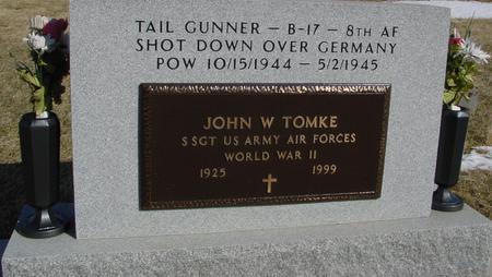TOMKE, JOHN W. - Ida County, Iowa | JOHN W. TOMKE