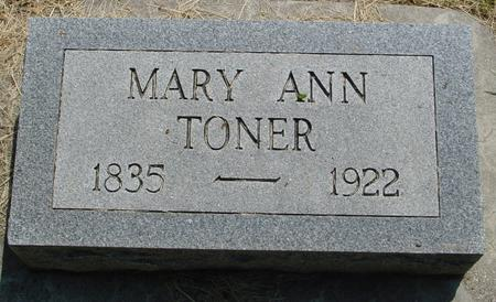 TONER, MARY - Ida County, Iowa | MARY TONER