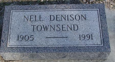 DENISON TOWNSEND, NELL - Ida County, Iowa | NELL DENISON TOWNSEND