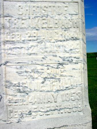 TRENKELBACH, CHRISTOF - Ida County, Iowa | CHRISTOF TRENKELBACH