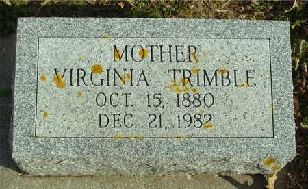TRIMBLE, VIRGINIA - Ida County, Iowa | VIRGINIA TRIMBLE
