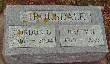 TROUSDALE, GORDON & BETTY - Ida County, Iowa | GORDON & BETTY TROUSDALE
