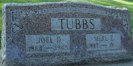TUBBS, JOEL D. - Ida County, Iowa | JOEL D. TUBBS