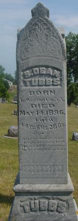 TUBBS, S. DEAN - Ida County, Iowa | S. DEAN TUBBS