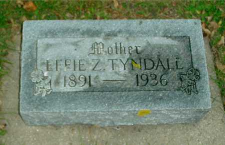 TYNDALL, EFFIE Z. - Ida County, Iowa | EFFIE Z. TYNDALL
