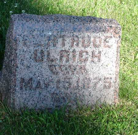 ULRICH, GERTRUDE - Ida County, Iowa | GERTRUDE ULRICH