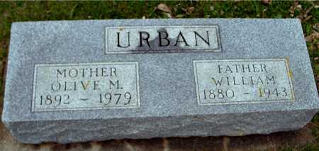 URBAN, WILLIAM & OLIVE - Ida County, Iowa   WILLIAM & OLIVE URBAN