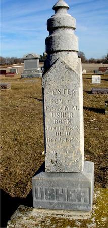USHER, LESTER - Ida County, Iowa | LESTER USHER