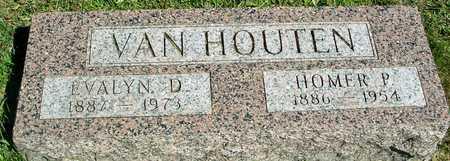 VAN HOUTEN, HOMER & EVALYN - Ida County, Iowa | HOMER & EVALYN VAN HOUTEN