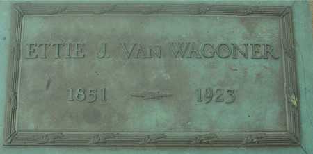VAN WAGONER, ETTIE - Ida County, Iowa | ETTIE VAN WAGONER