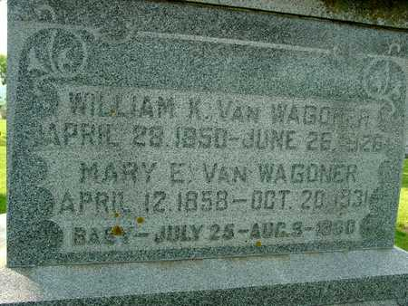 VAN WAGONER, WILLIAM K. & MARY - Ida County, Iowa | WILLIAM K. & MARY VAN WAGONER