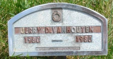 VAN HOUTEN, JERRY D. - Ida County, Iowa   JERRY D. VAN HOUTEN