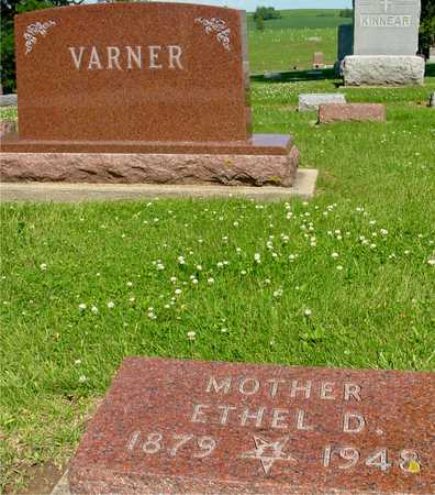 VARNER, ETHEL - Ida County, Iowa | ETHEL VARNER