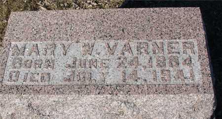 VARNER, MARY W. - Ida County, Iowa | MARY W. VARNER