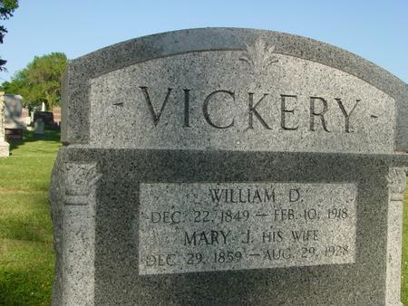 VICKERY, WILLIAM  D. - Ida County, Iowa | WILLIAM  D. VICKERY