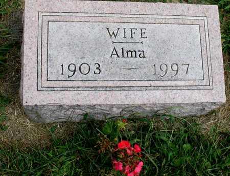 VOHS, ALMA - Ida County, Iowa | ALMA VOHS