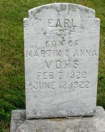 VOHS, EARL - Ida County, Iowa | EARL VOHS