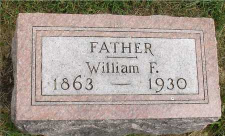 VOHS, WILLIAM F. - Ida County, Iowa | WILLIAM F. VOHS