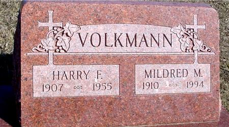 VOLKMANN, HARRY F. & MILDRED - Ida County, Iowa | HARRY F. & MILDRED VOLKMANN