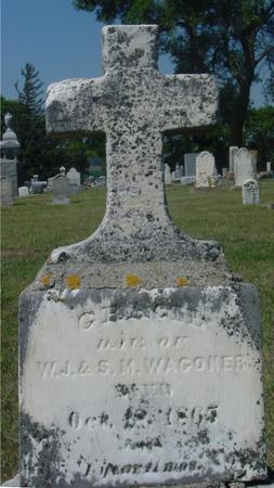 WAGONER, GRACIE - Ida County, Iowa   GRACIE WAGONER