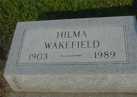WAKEFIELD, HILMA - Ida County, Iowa | HILMA WAKEFIELD