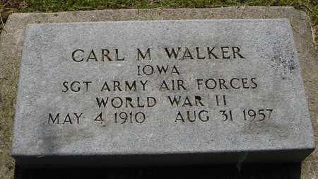 WALKER, CARL M. - Ida County, Iowa | CARL M. WALKER