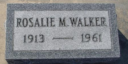 WALKER, ROSALIE M. - Ida County, Iowa | ROSALIE M. WALKER