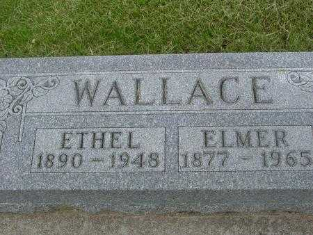 WALLACE, ETHEL - Ida County, Iowa | ETHEL WALLACE