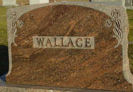 WALLACE, FAMILY MARKER - Ida County, Iowa | FAMILY MARKER WALLACE