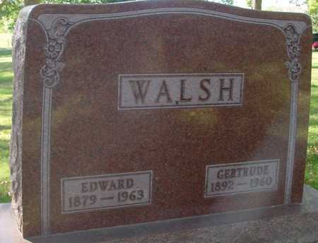 WALSH, EDWARD & GERTRUDE - Ida County, Iowa | EDWARD & GERTRUDE WALSH