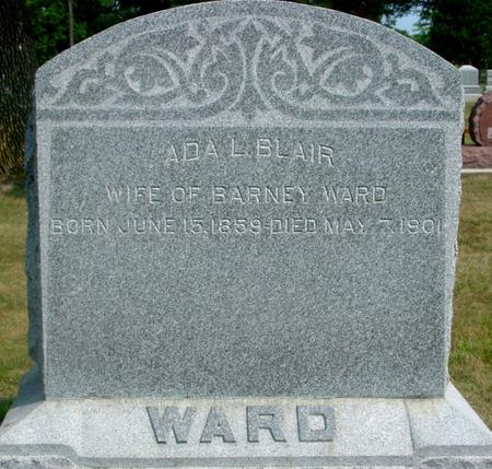 BLAIR WARD, ADA L. - Ida County, Iowa | ADA L. BLAIR WARD