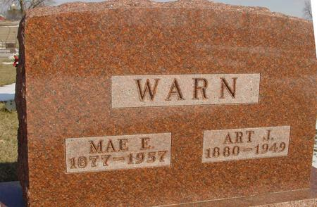 WARN, ART J. & MAE E. - Ida County, Iowa | ART J. & MAE E. WARN