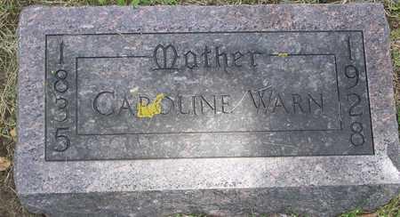 WARN, CAROLINE - Ida County, Iowa   CAROLINE WARN