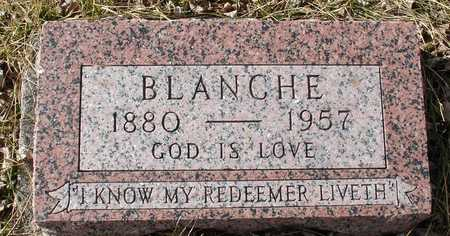 WARNER, BLANCHE - Ida County, Iowa | BLANCHE WARNER