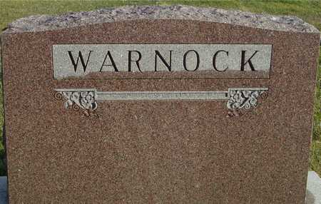 WARNOCK, FAMILY MARKER - Ida County, Iowa | FAMILY MARKER WARNOCK