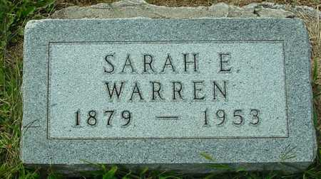 WARREN, SARAH E. - Ida County, Iowa | SARAH E. WARREN