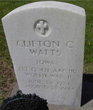 WATTS, CLIFTON C. - Ida County, Iowa | CLIFTON C. WATTS