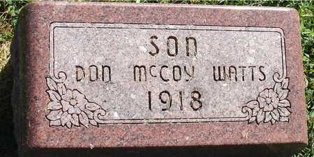 WATTS, DON MCCOY - Ida County, Iowa | DON MCCOY WATTS