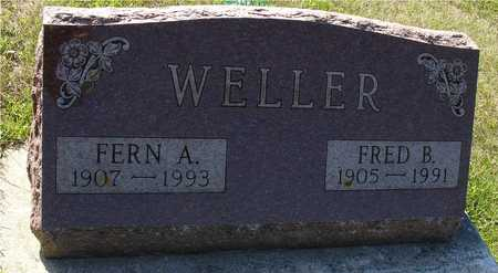 WELLER, FRED B. & FERN - Ida County, Iowa | FRED B. & FERN WELLER