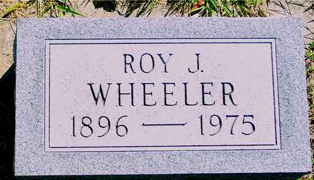 WHEELER, ROY J. - Ida County, Iowa | ROY J. WHEELER