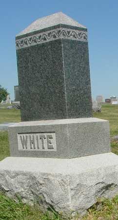 WHITE, FAMILY MARKER - Ida County, Iowa | FAMILY MARKER WHITE