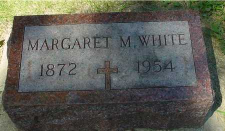 WHITE, MARGARET M. - Ida County, Iowa | MARGARET M. WHITE