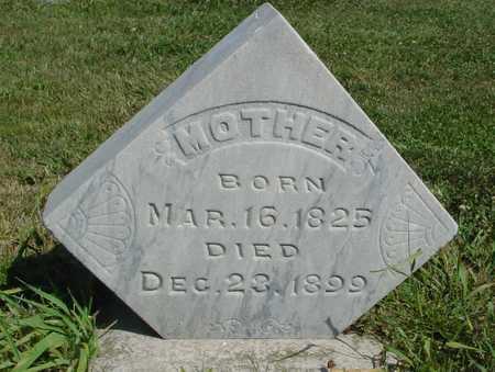 WHITE, MOTHER - Ida County, Iowa   MOTHER WHITE