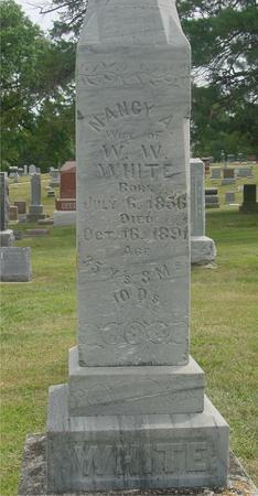 WHITE, NANCY A. - Ida County, Iowa   NANCY A. WHITE
