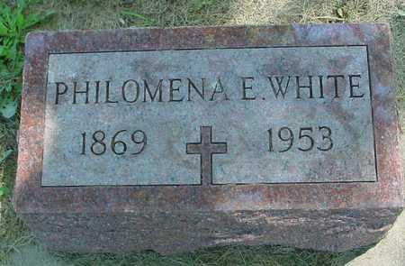 WHITE, PHILOMENA E. - Ida County, Iowa | PHILOMENA E. WHITE